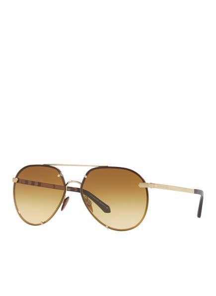 BURBERRY Sonnenbrille BE3099 , Farbe: 11452L - GOLD/ DUNKELGELB VERLAUF (Bild 1)
