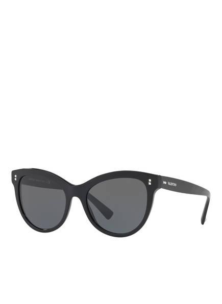 VALENTINO Sonnenbrille VA4013, Farbe: 500187 - SCHWARZ/ GRAU (Bild 1)