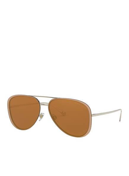 GIORGIO ARMANI Sonnenbrille AR6084 , Farbe: 30136H - GOLD/ BRAUN (Bild 1)