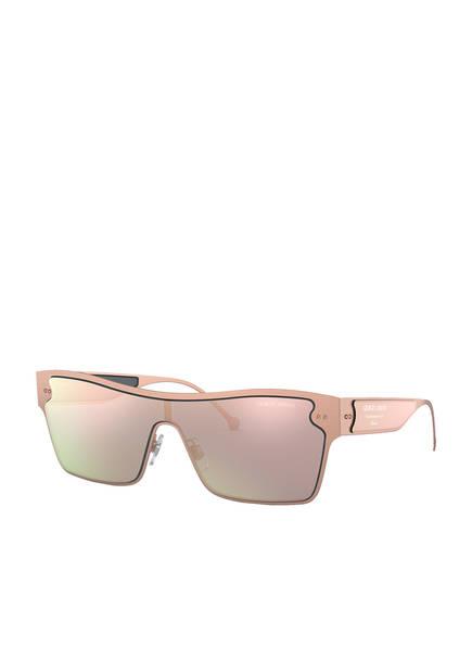 GIORGIO ARMANI Sonnenbrille AR6088, Farbe: 30064Z - BEIGE/ ROSÉ VERSPIEGELT (Bild 1)