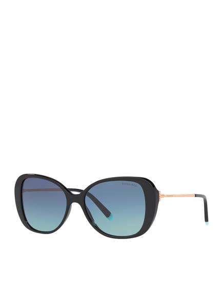 TIFFANY & Co. Sunglasses Sonnenbrille TF4156, Farbe: SCHWARZ/ BLAU (Bild 1)