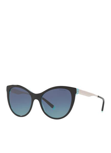 TIFFANY & CO Sonnenbrille TF4159, Farbe: SCHWARZ/ BLAU (Bild 1)