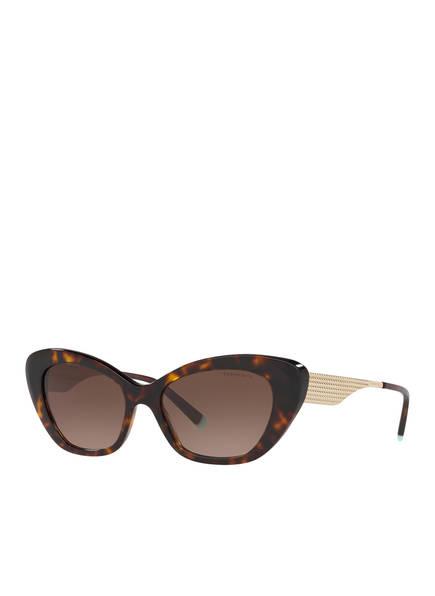 TIFFANY & Co. Sunglasses Sonnenbrille TF4158, Farbe: HAVANNA/ BRAUN (Bild 1)