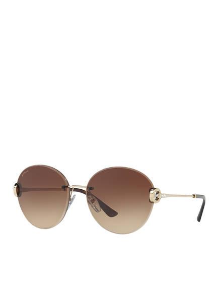 BVLGARI Sunglasses Sonnenbrille BV6091B, Farbe: 278/13 - GOLD/ BRAUN VERLAUF (Bild 1)