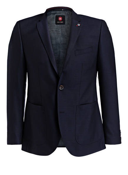 CG CLUB of GENTS Sakko ASCOTT SV Tailored Fit, Farbe: DUNKELBLAU (Bild 1)