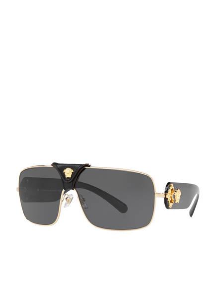 VERSACE Sonnenbrille VE2207Q, Farbe: GOLD/ SCHWARZ (Bild 1)