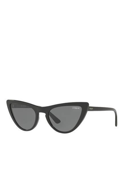 VOGUE Sonnenbrille VO5211S, Farbe: SCHWARZ/ DUNKELGRAU (Bild 1)