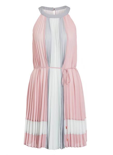 TED BAKER Kleid LELLIAN, Farbe: ROSA/ HELLGRAU/ WEISS (Bild 1)