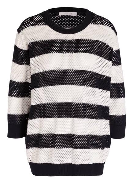 DOROTHEE SCHUMACHER Pullover , Farbe: 10 black white stripes (Bild 1)