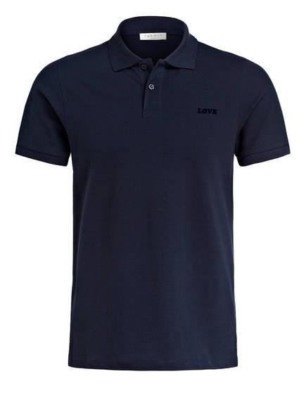 sandro Piqué-Poloshirt Regular Fit, Farbe: DUNKELBLAU (Bild 1)