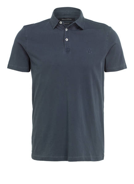 Marc O'Polo Jersey-Poloshirt Regular Fit, Farbe: NAVY (Bild 1)