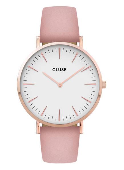 CLUSE Armbanduhr LA BOHÈME, Farbe: ROSÉGOLD/ WEISS/ ROSÉ (Bild 1)