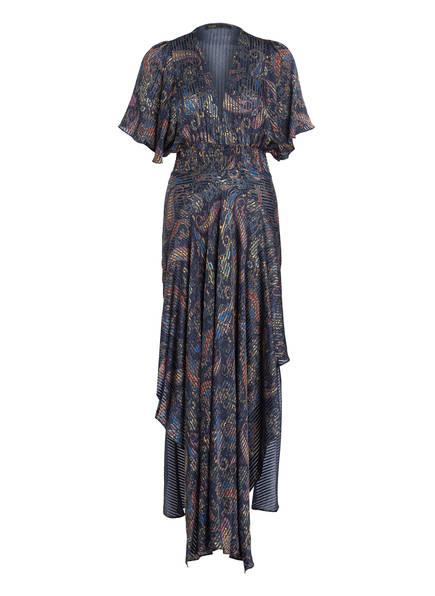 maje Kleid RACHEL , Farbe: DUNKELBLAU/ GELB/ ORANGE (Bild 1)