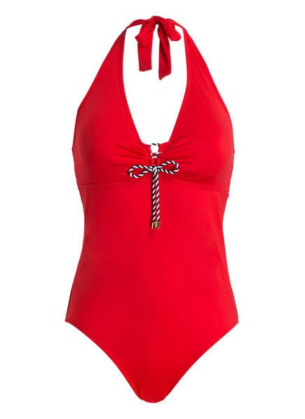 LAUREN RALPH LAUREN Badeanzug BEACH CLUB SOLIDS , Farbe: ROT (Bild 1)