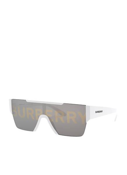 BURBERRY Sonnenbrille BE4291 , Farbe: 3007/H - WEISS/ GRAU VERSPIEGELT (Bild 1)