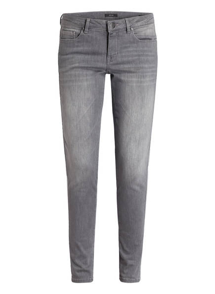 OPUS 7/8-Skinny-Jeans ELMA mit Galonstreifen, Farbe: GRAU (Bild 1)