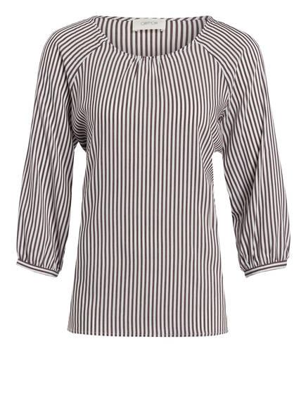 CARTOON Blusenshirt, Farbe: WEISS/ DUNKELLILA GESTREIFT (Bild 1)