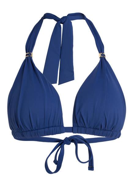 LAUREN RALPH LAUREN Triangel-Bikini-Top, Farbe: BLAU (Bild 1)