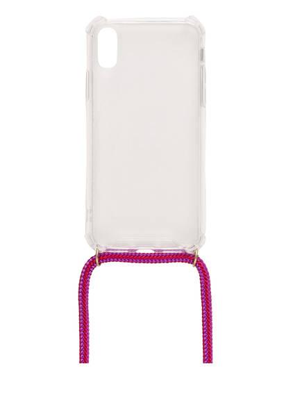 xouxou Smartphone-Hülle, Farbe: TRANSPARENT/ LILA (Bild 1)