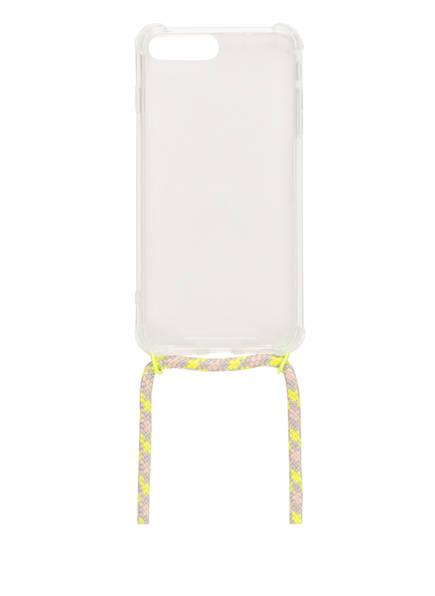 xouxou Smartphone-Hülle, Farbe: TRANSPARET/ GELB (Bild 1)