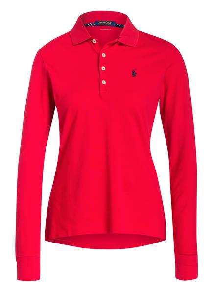POLO GOLF RALPH LAUREN Piqué-Poloshirt, Farbe: ROT (Bild 1)