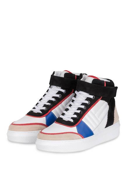 CLAUDIE PIERLOT Hightop-Sneaker ALTOH, Farbe: WEISS/ SCHWARZ (Bild 1)