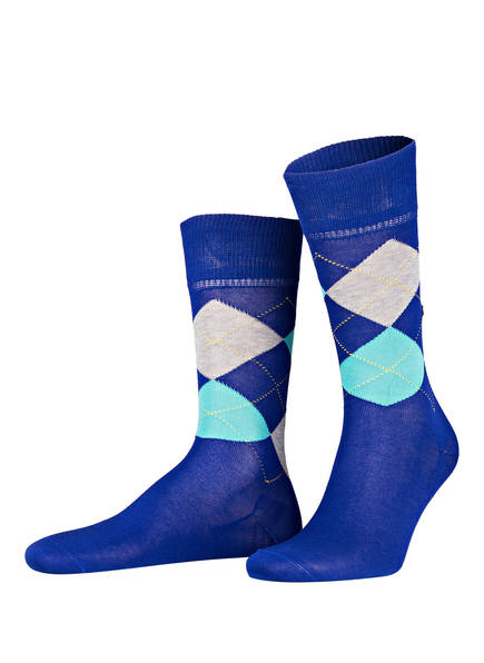 Burlington Socken MANCHESTER, Farbe: 6271 CARIBEAN (Bild 1)