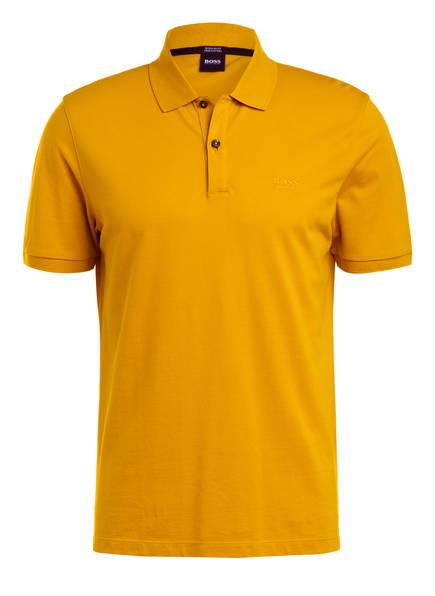 BOSS Piqué-Poloshirt PALLAS Regular Fit, Farbe: DUNKELGELB (Bild 1)