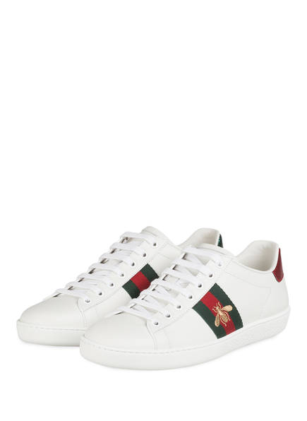 GUCCI Sneaker ACE, Farbe: BIA/ V.R.V/ RED F VER (Bild 1)