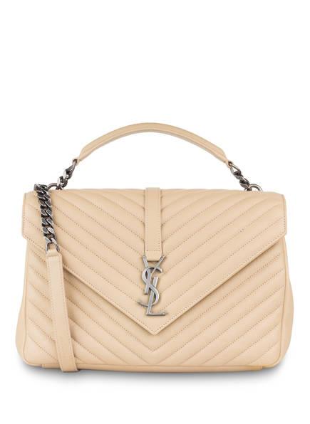 SAINT LAURENT Handtasche COLLEGE LARGE, Farbe: POUDRE (Bild 1)