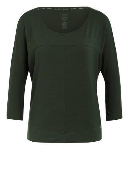 Calvin Klein Lounge-Shirt, Farbe: DUNKELGRÜN (Bild 1)