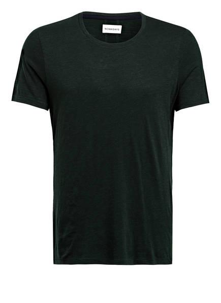 NOWADAYS T-Shirt, Farbe: DUNKELGRÜN MELIERT (Bild 1)