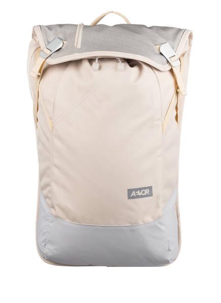 AEVOR Rucksack DAYPACK 18 l (erweiterbar auf 28 Liter) mit Laptop-Fach, Farbe: BEIGE/ GRAU (Bild 1)