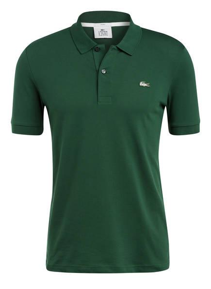 LACOSTE L!VE Piqué-Poloshirt Slim Fit, Farbe: GRÜN (Bild 1)