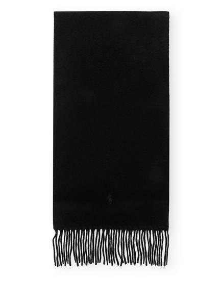 POLO RALPH LAUREN Cashmere-Schal, Farbe: SCHWARZ (Bild 1)