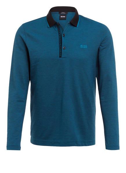 BOSS Piqué-Poloshirt PLEESY, Farbe: BLAU (Bild 1)