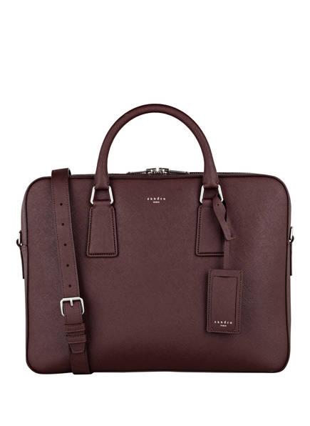 sandro Business-Tasche, Farbe: BORDEAUX (Bild 1)