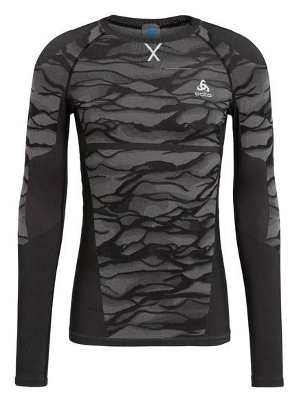odlo Funktionswäsche-Shirt PERFORMANCE BLACKCOMB, Farbe: SCHWARZ/ GRAU (Bild 1)