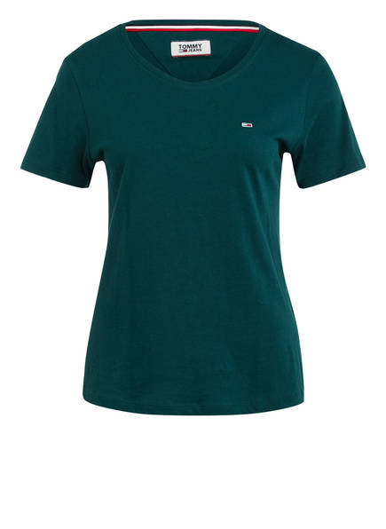 TOMMY JEANS T-Shirt, Farbe: DUNKELGRÜN (Bild 1)