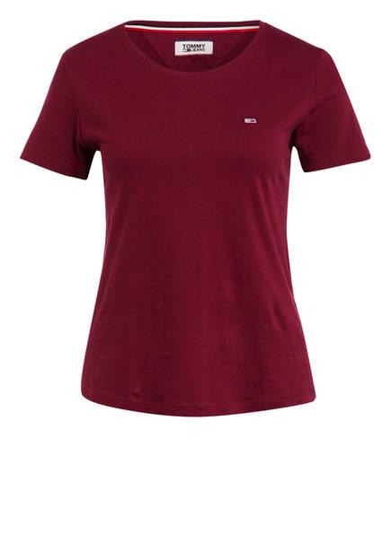 TOMMY JEANS T-Shirt, Farbe: DUNKELROT (Bild 1)