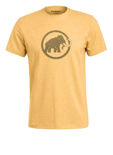 MAMMUT T-Shirt TROVAT, Farbe: GELB MELIERT (Bild 1)