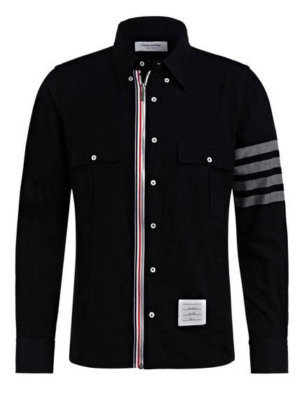 THOM BROWNE. Hemd Regular Fit , Farbe: DUNKELBLAU (Bild 1)