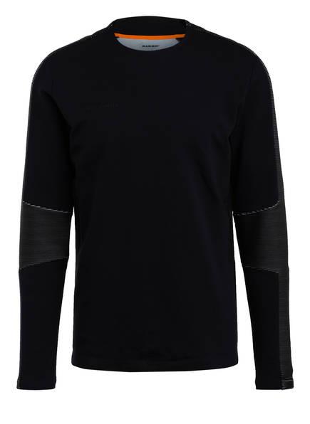 MAMMUT Sweatshirt ZUN ML, Farbe: SCHWARZ (Bild 1)