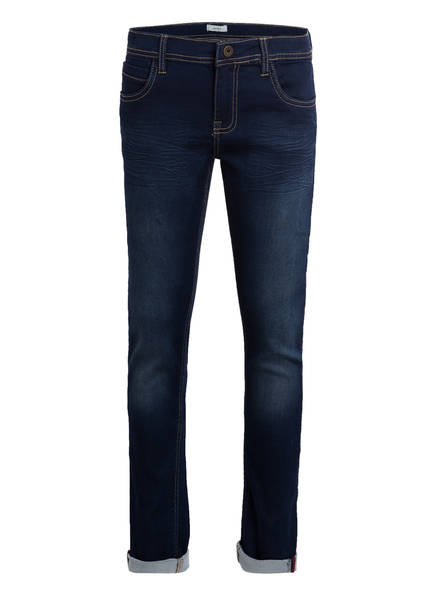 name it Jeans Slim Fit , Farbe: DARK BLUE DENIM (Bild 1)