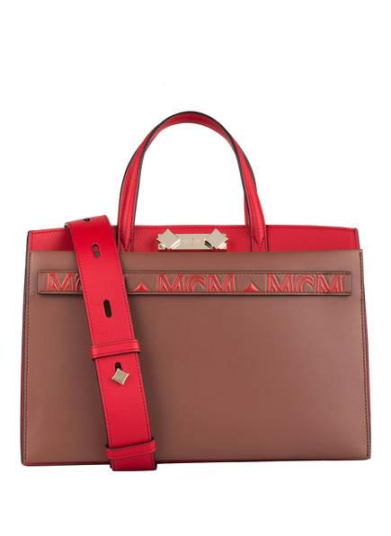 MCM Handtasche HORIZONT, Farbe: ROT/ BRAUN (Bild 1)