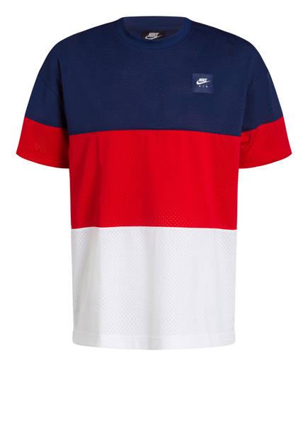 Nike T-Shirt AIR, Farbe: BLAU/ ROT/ WEISS (Bild 1)