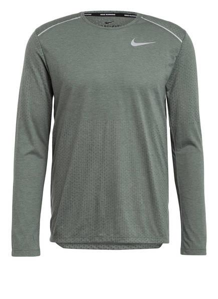 Nike Laufshirt RISE 365, Farbe: HELLGRÜN (Bild 1)