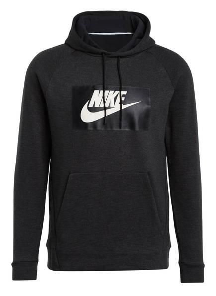Nike Hoodie, Farbe: SCHWARZ/ ANTHRAZIT MELIERT (Bild 1)