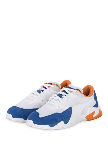 PUMA Sneaker STORM ADRENALINE, Farbe: WEISS/ BLAU/ ORANGE (Bild 1)