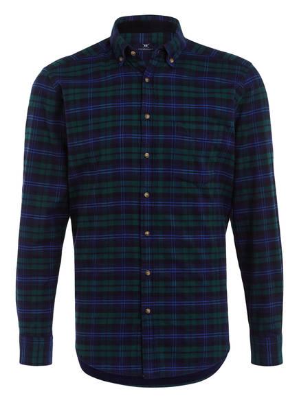 STROKESMAN'S Hemd Regular Fit, Farbe: DUNKELGRÜN/ DUNKELBLAU (Bild 1)